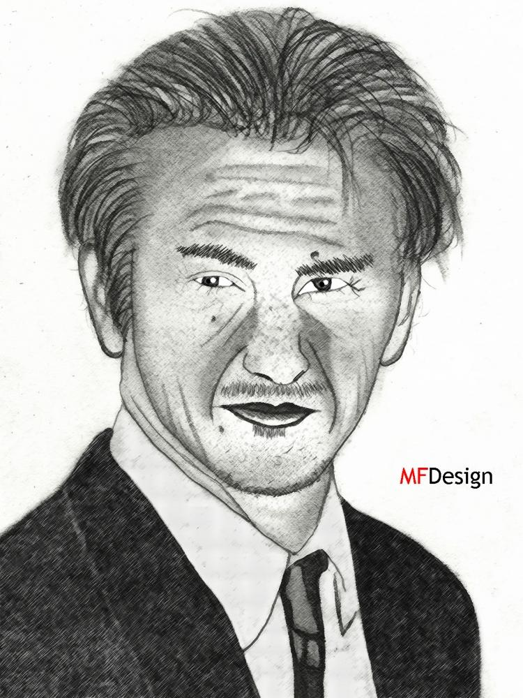 Sean Penn por merytamon